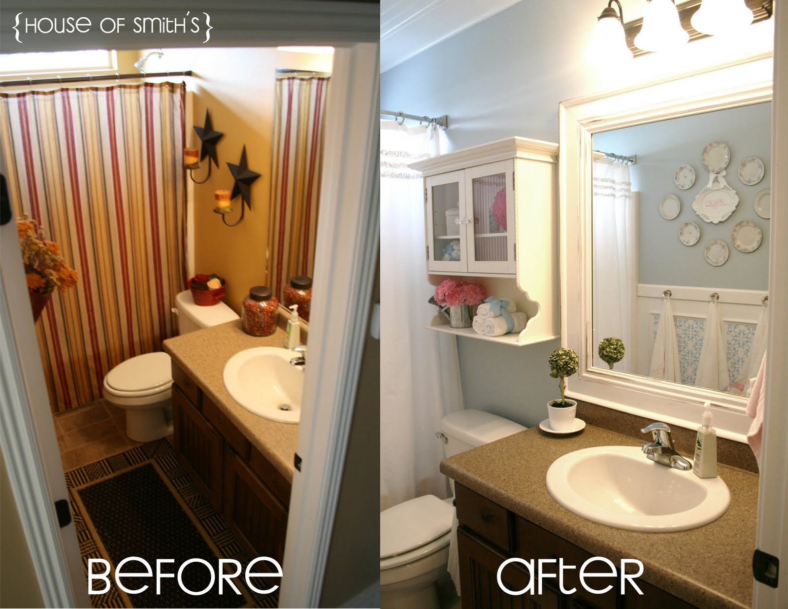 Bathroom Renovation Ideas Before And After the house of smiths - home diy blog - interior decorating blog