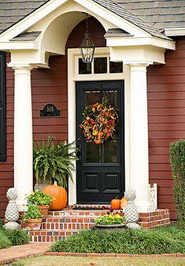 Herbst In Den Usa Herbst Dekoration Wohnen De Amerikanische Hauser