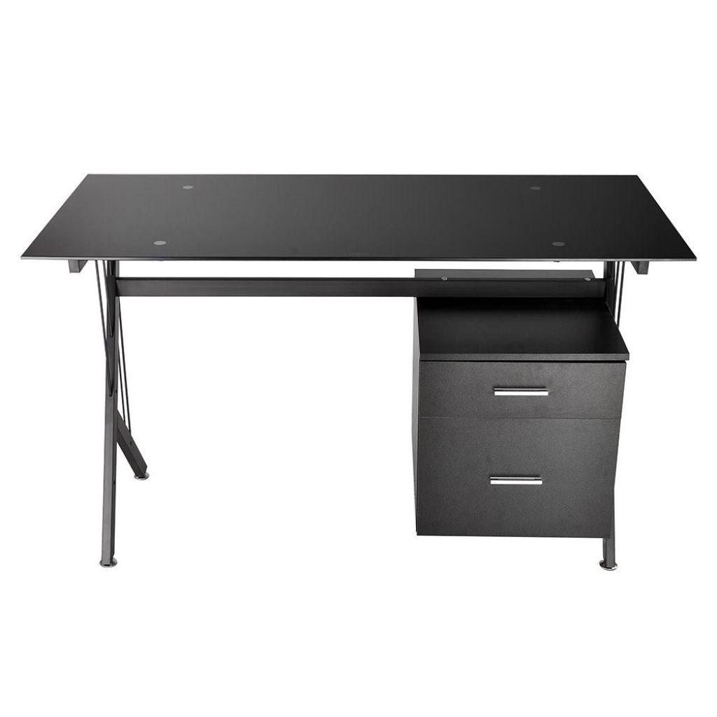 Schwarz Und Glas Schreibtisch Moderner Home Office Möbel Eine Der Besten  Alternativen Für Schwarz Und Glas