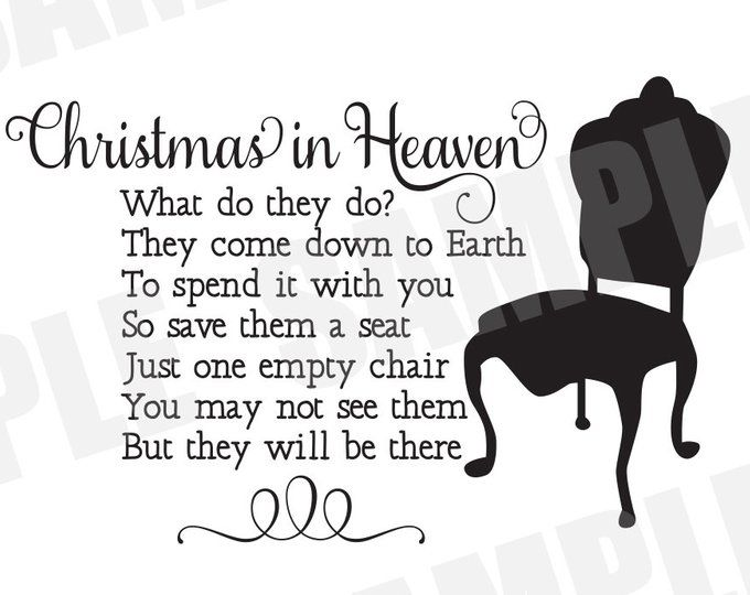 Download Christmas In Heaven SVG   Christmas in heaven, Things to ...