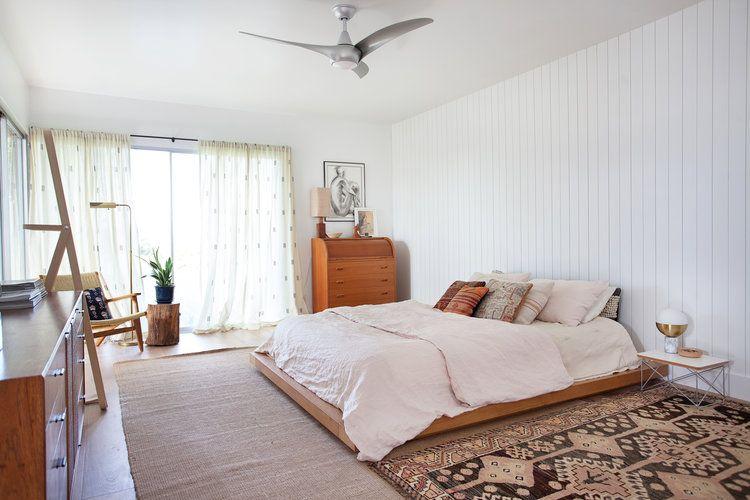 Veneer Designs Bedroom Boho Chic Midcentury Modern Renovation
