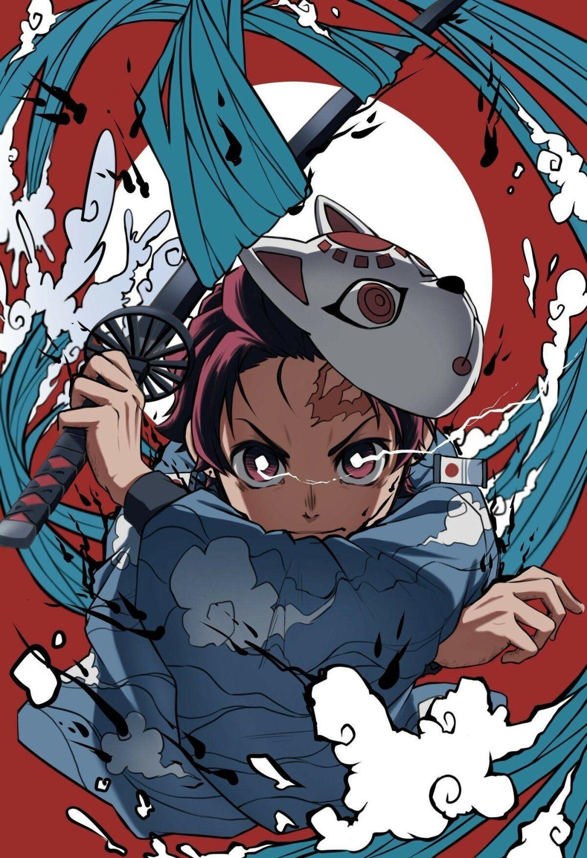 خلفيات أنيمي Anime تانجيرو Tanjiro ياباني 35 in