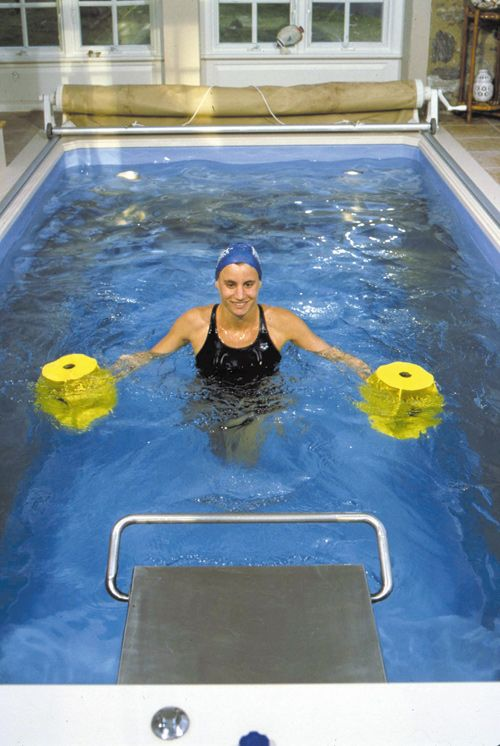 Pin By Barb Gage On Aquafitness Pool Workout Aquatic Therapy