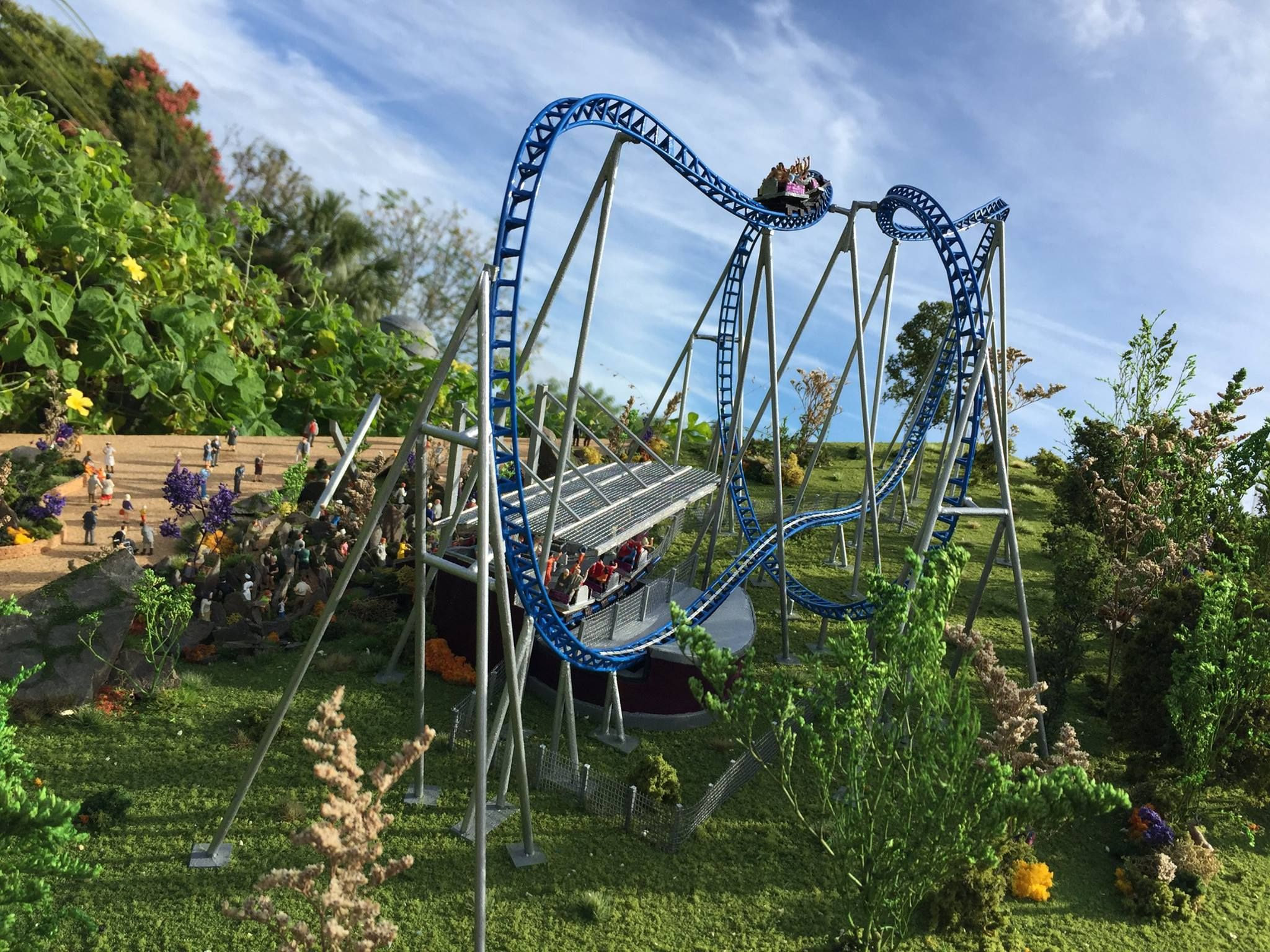Mack Rides Roller Coaster Model Theme Parks Rides Roller Coaster Theme Park
