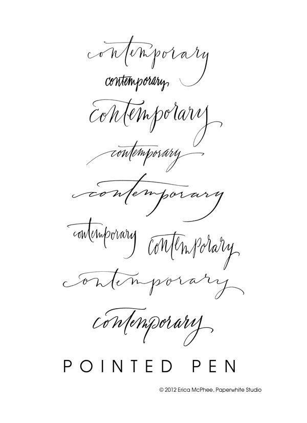 calligraphy @ paperwhitestudio.com   TATS   Pinterest   Letters ...