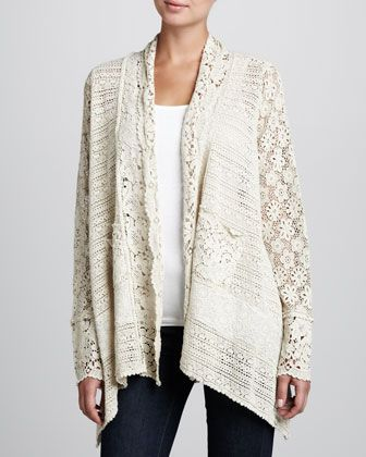 Johnny Was Collection Flower Tiles Crochet Jacket Women S Crochet Jacket Jackets For Women Women