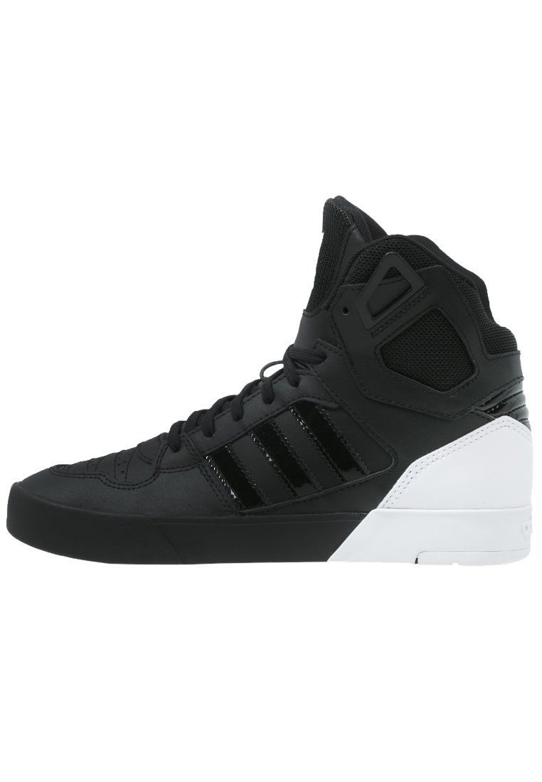Adidas Originals Spectra Tenisowki I Trampki Wysokie Core Black White Chic Sneakers Sneakers All Black Sneakers