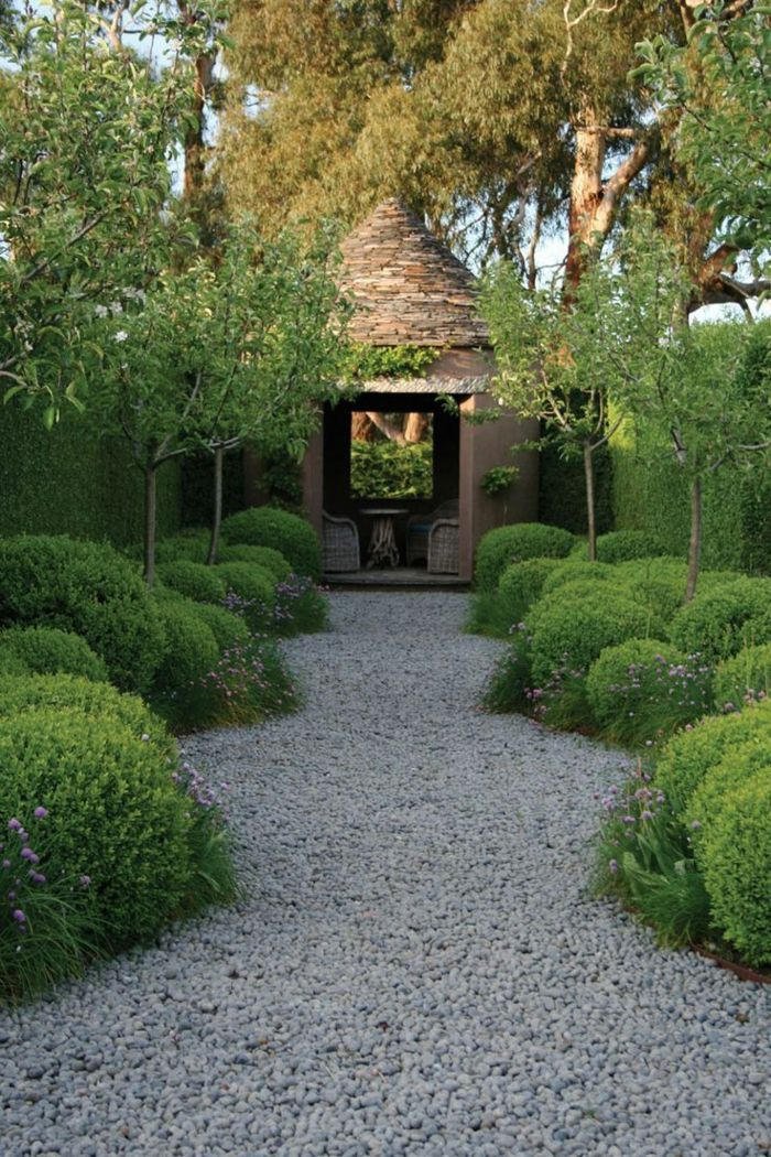 Photo of Garden design with gravel and stones – 25 garden ideas for you