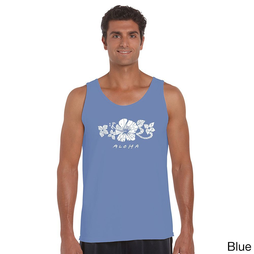 Los Angeles Pop Art Men's Aloha Tank Top