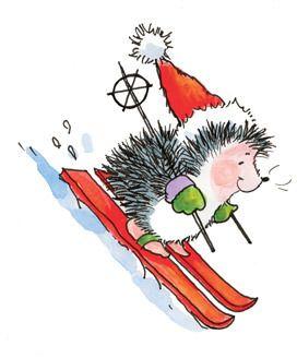 Exhilarating Penny Black Stamps Weihnachten Illustration Igel Illustration Und Aquarell Weihnachten