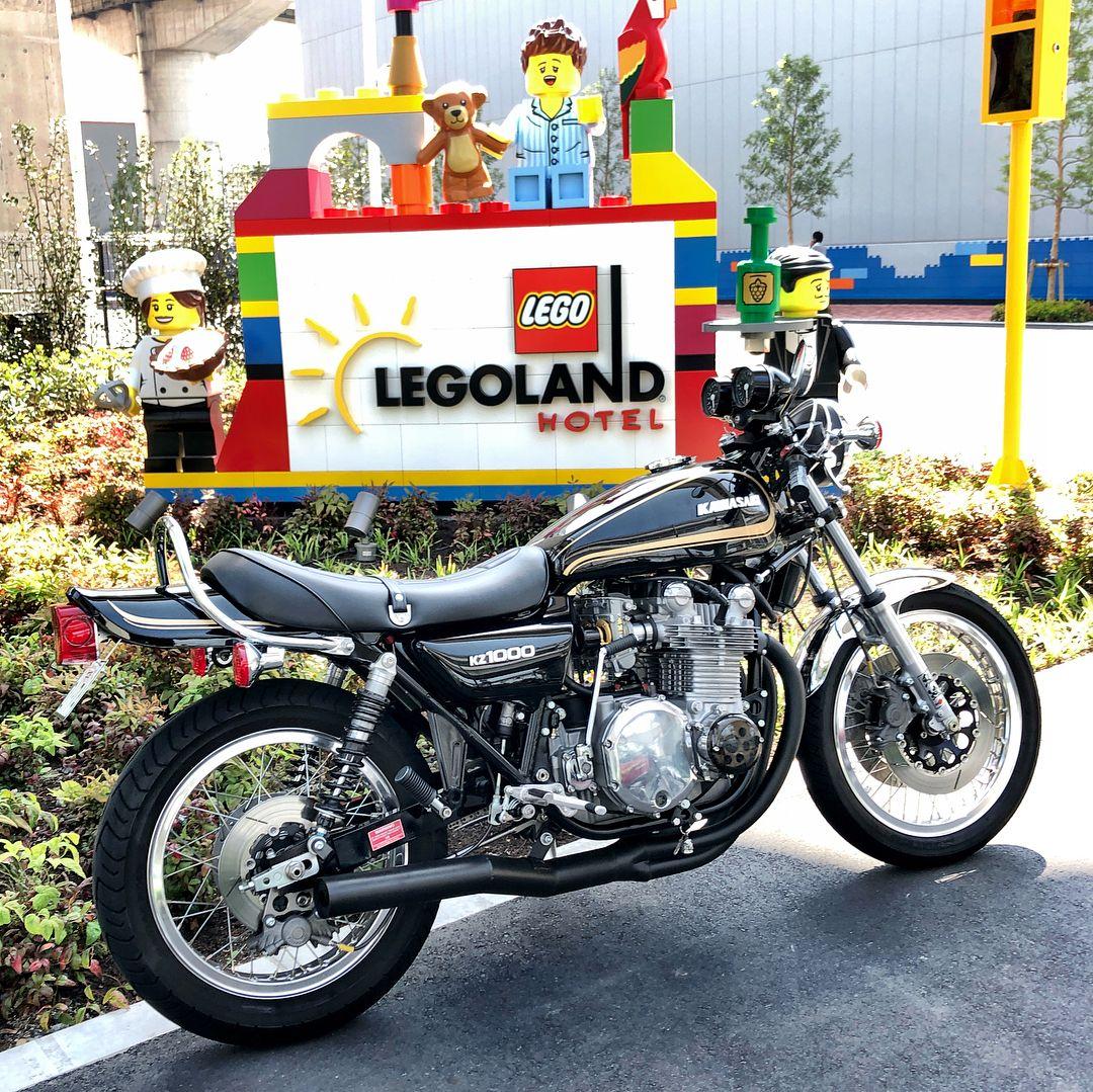 Legolandに寄り道 Kz1000 Kz1000a Z1000 Z1 カワサキ Kawasaki Motorcycle Oldmotorcycle Vintagemotorcycle Kawasaki Bikes Kawasaki Motorbikes Kawasaki Motorcycles