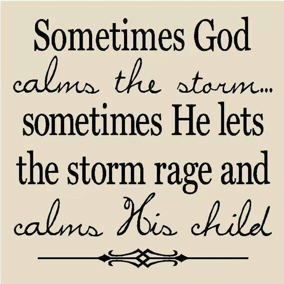 The Storms In Life.
