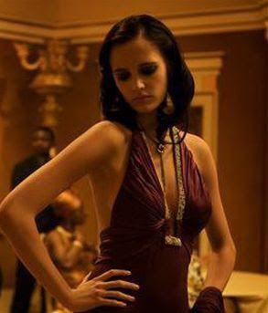 Eva Greens Purple Dress In Casino Royale | Eva green casino