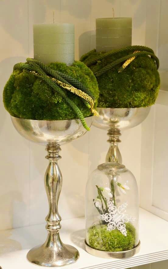 kerzenst nder floristik dekoration gestecke weihnachten. Black Bedroom Furniture Sets. Home Design Ideas