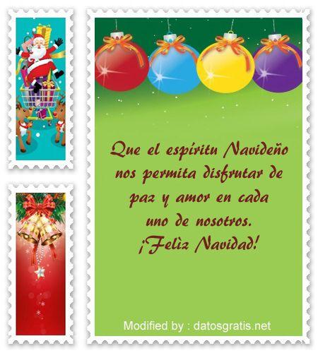 Originales mensajes de navidad buscar bonitos mensajes de - Tarjetas de navidad para enviar ...