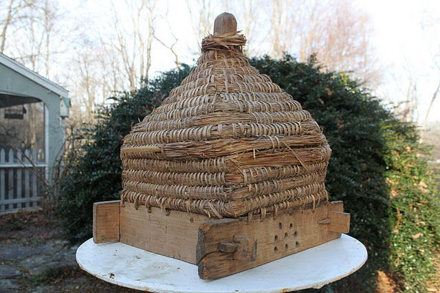 French Antique Bee Skep