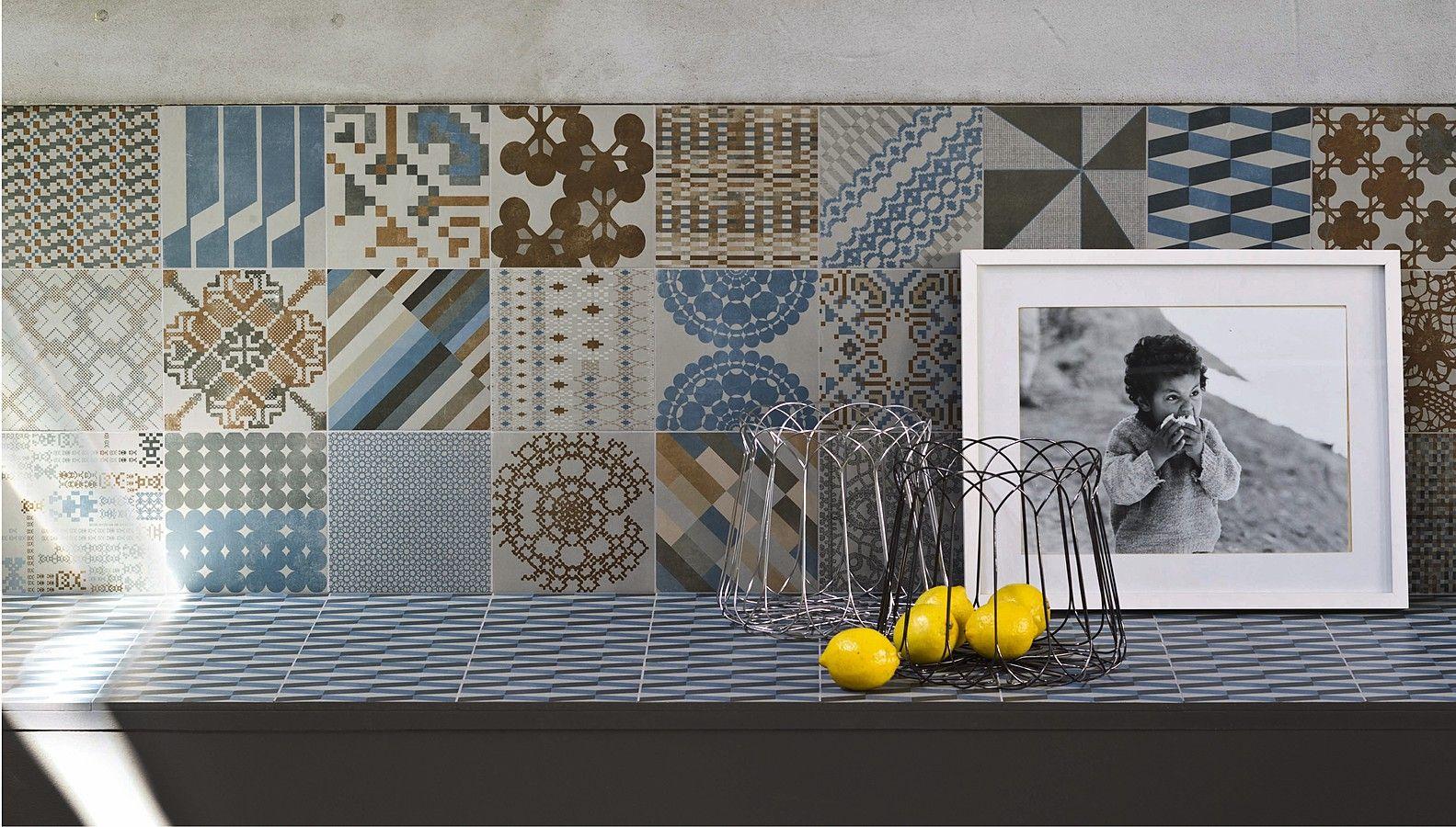 https://tile.expert/img_lb/Mutina/Azulej/per_sito/ambienti/Azulej-Mutina-7.jpg , Kitchen, Living room, Public spaces, Bathroom, Patchwork style, Designer style, Patricia Urquiola, Concrete effect, Porcelain stoneware, wall & floor, Matte, Non-rectified