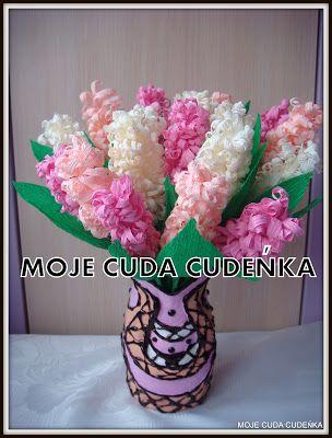Giacinti In Carta Crespa Tutorial Crepe Paper Flowers Diy Paper Flowers Diy Flower Crafts