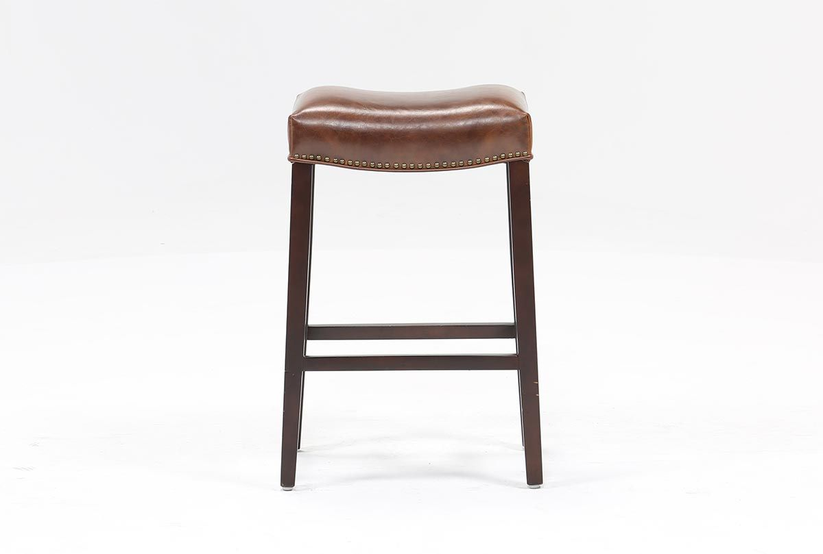 Camden 30 Inch Whiskey Barstool Living Spaces Bar Stools