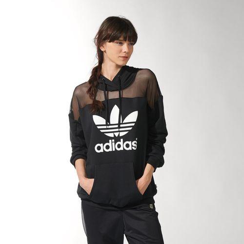 Mujer Con Capucha Solar Chamarra Ora Black Adidas Originals Rita wq15Yg