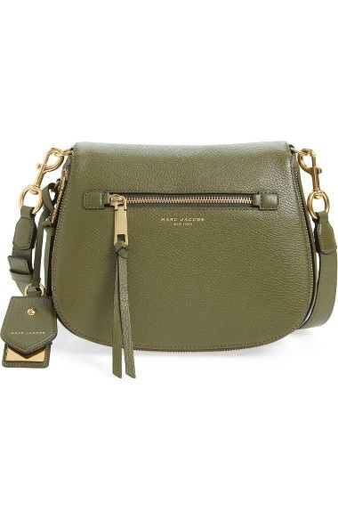0c03332cd6 MARC JACOBS Recruit Nomad Pebbled Leather Crossbody Bag. #marcjacobs #bags  #shoulder bags #leather #crossbody #