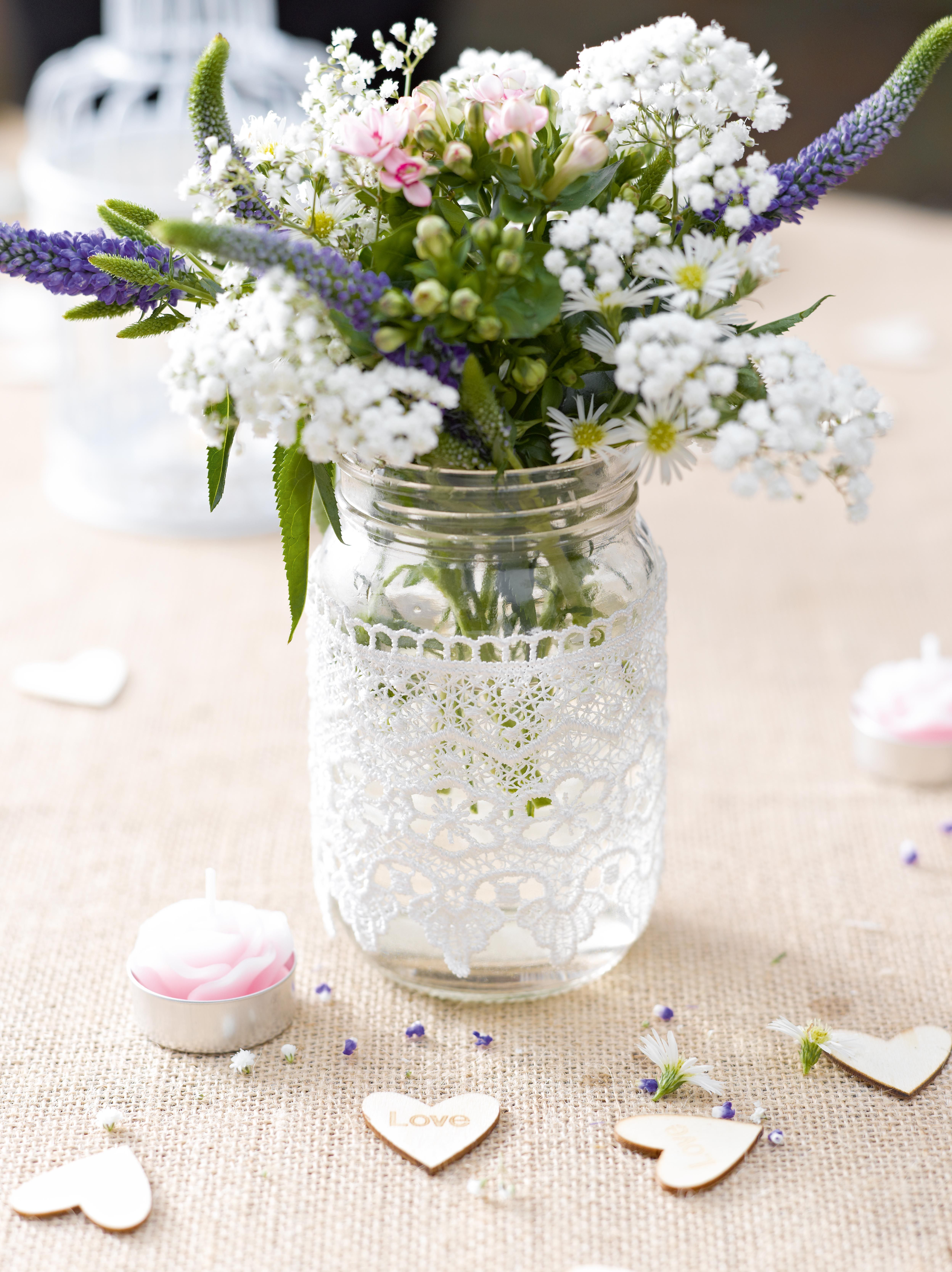 Cute Table Decorations For Wedding Or Valentines Httpwww