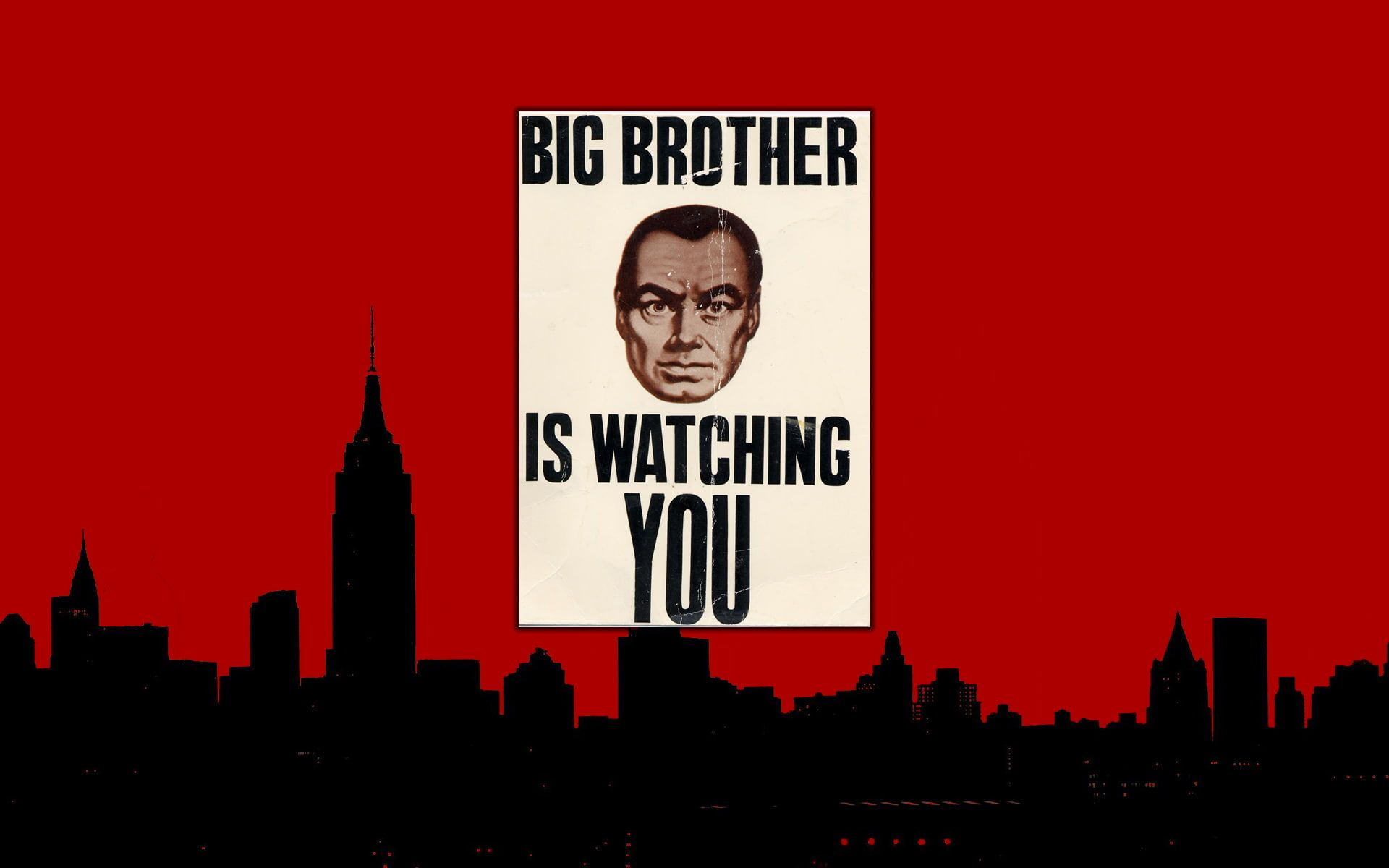 1984 Big Brother Red Hd Big Brother Is Watching You Illustration Movies Red Big 1984 Brother 1080p Wallpaper Hdwallpaper Desktop Ders Calisma Ipuclari