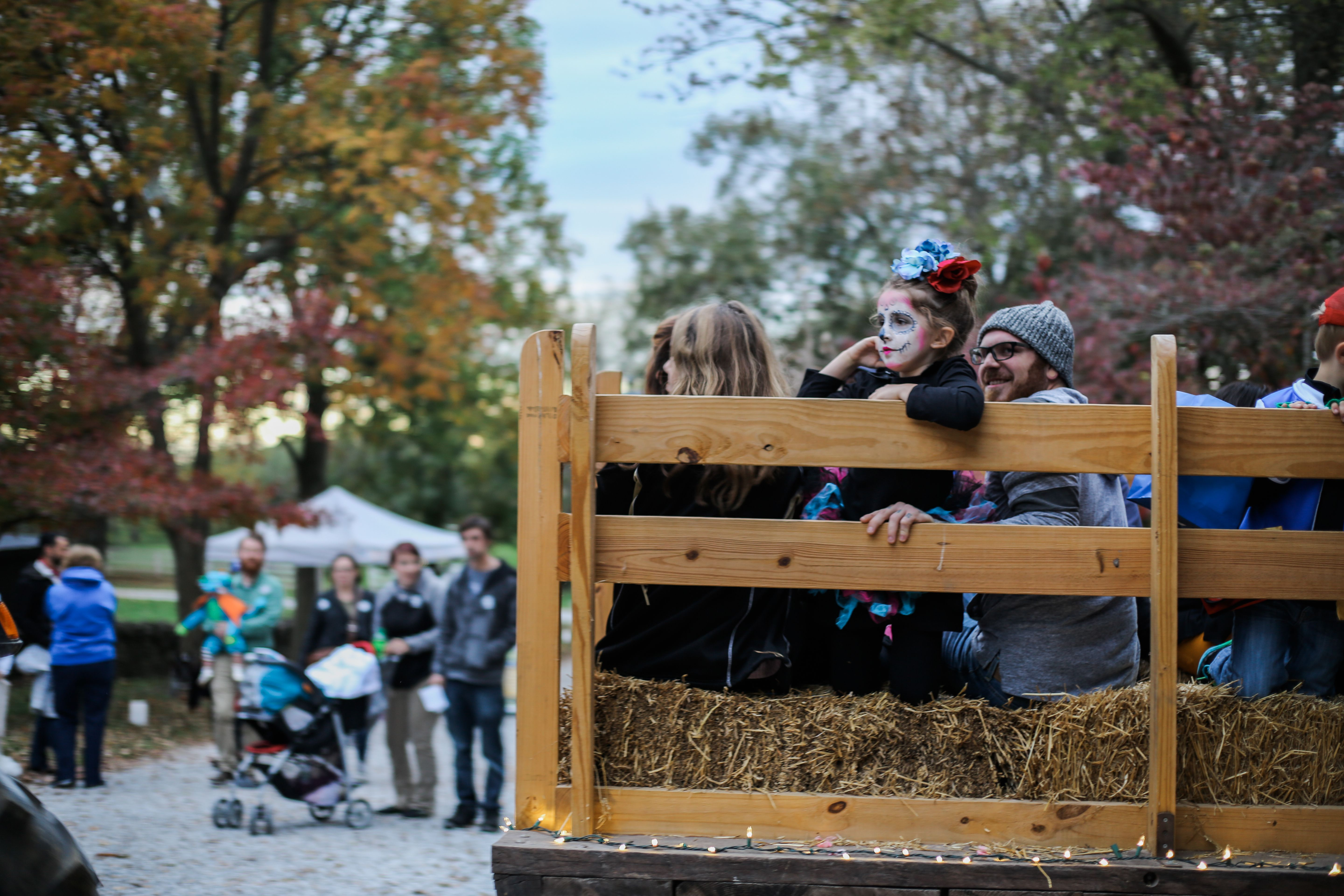 Hayride Shuttle, Halloween at Shaker Village, Harrodsburg