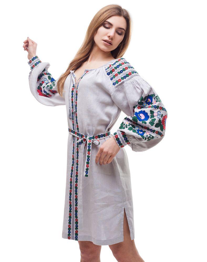 "7ae12e48789434d Платье ""Борщівські барви"" лен. #embroidery #embroiderydress #boho #bohochic  #"