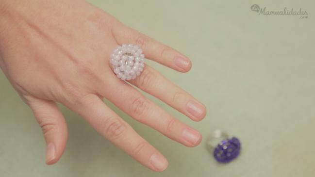 Cómo hacer un anillo de abalorios - IMujer