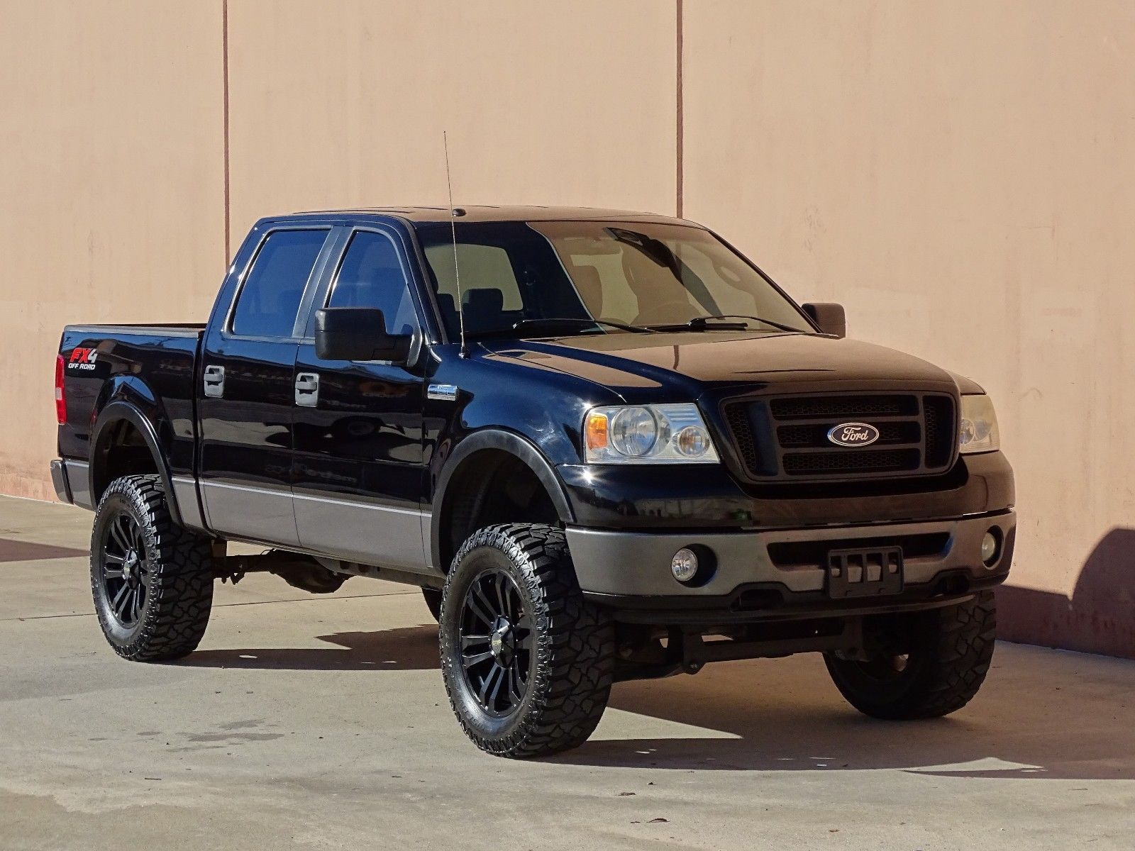 2007 Ford F150 Fx4 Crew Cab 4x4 5 4l V8 Lifted W 20 Lifted