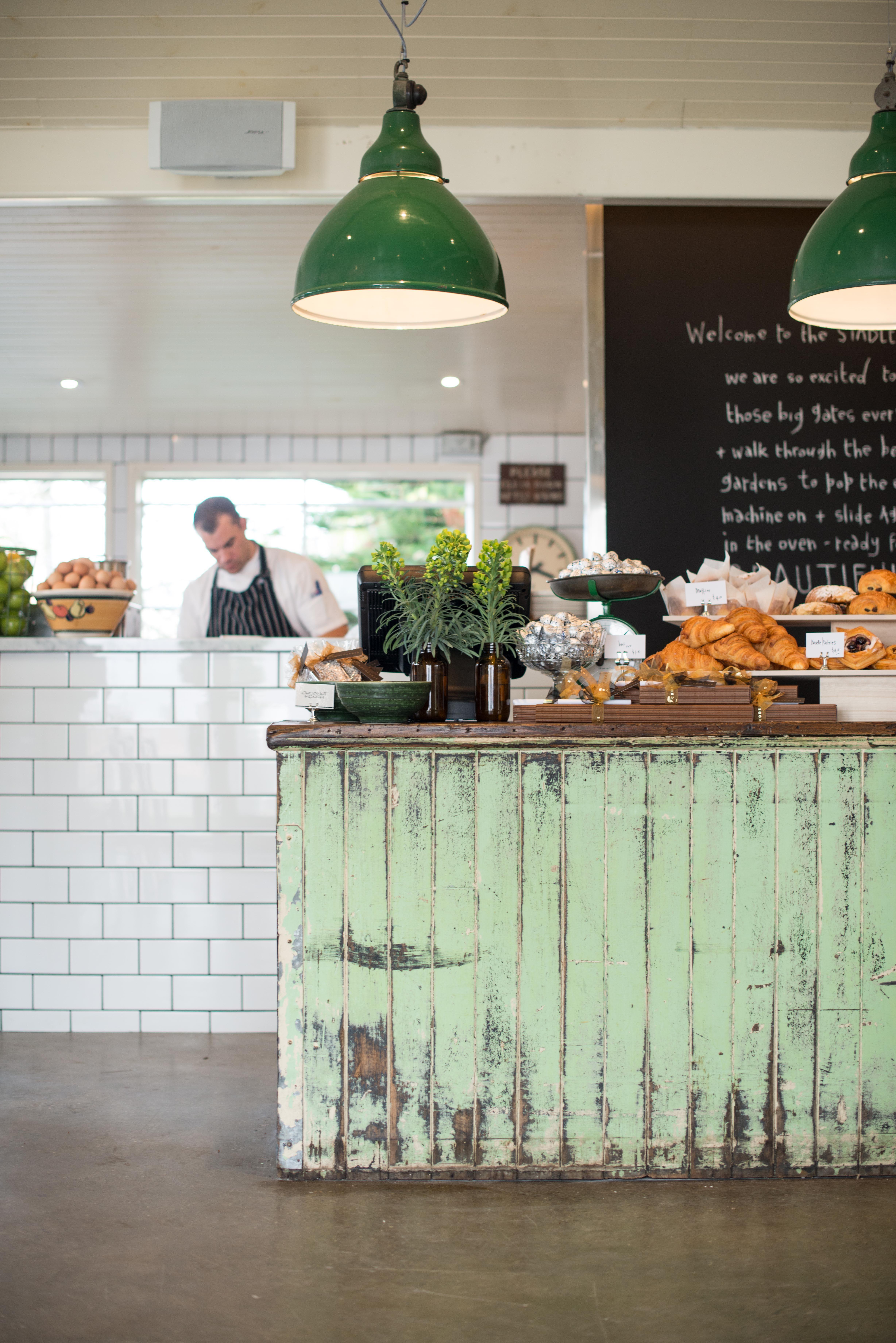 Simple Beautiful Non Fussed Styling Trendy Farmhouse Kitchen Restaurant Decor Cafe Interior Design