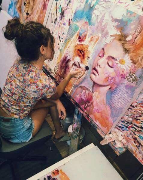 Dimitra Milan artiste   ART/ART STUDIO/Plans/Office/Projects