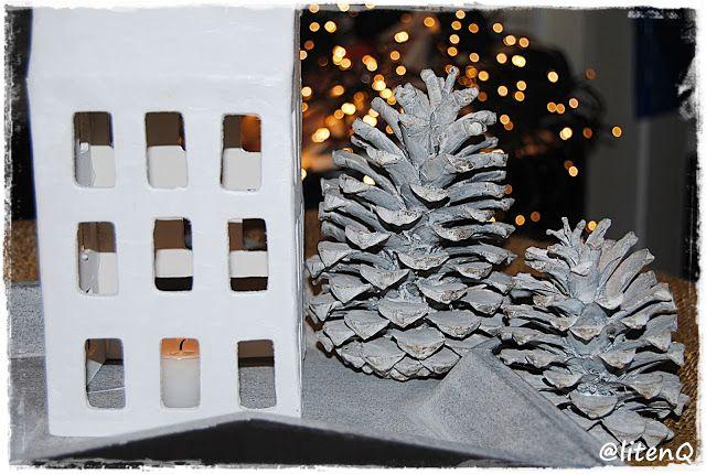 Lag ditt eget lyshus av papirleire. Kan du lage et pepperkakehus, så kan du lage et lyshus av leire. Se hvordan det er laget på: dinfantasi.no: Sissel P