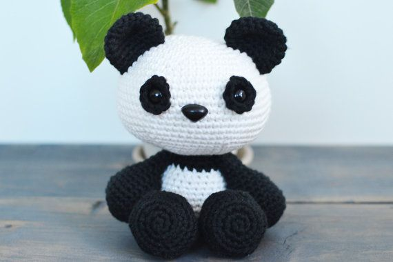 9 Crochet Panda Patterns – Cute Amigurumi Bear Toys - A More ... | 380x570