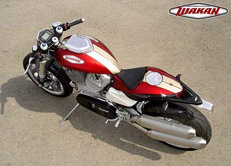 Wakan 1640 A Single Seat V Twin Powered Sport Bike Motorcycles