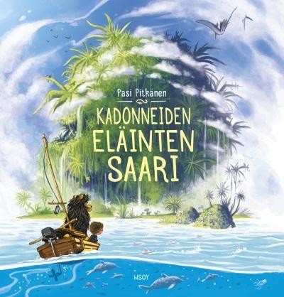 Kadonneiden eläinten saari - Pasi Pitkänen - #kirja
