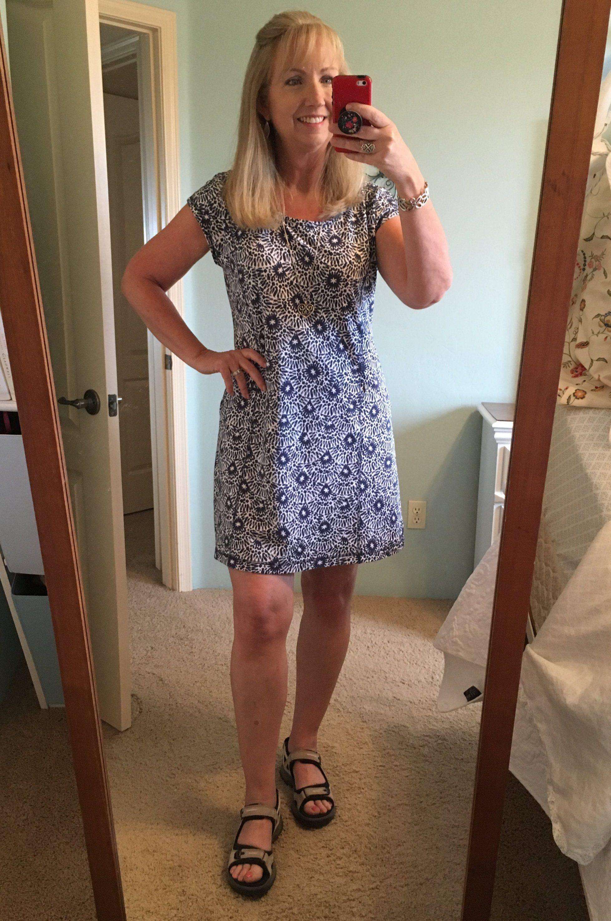 Easy Breezy Summer Dress For Women Over 40 Summer Casual Dress Travel Dress T By Talbots Summer Dresses For Women Summer Dresses Casual Summer Dresses [ 2953 x 1960 Pixel ]