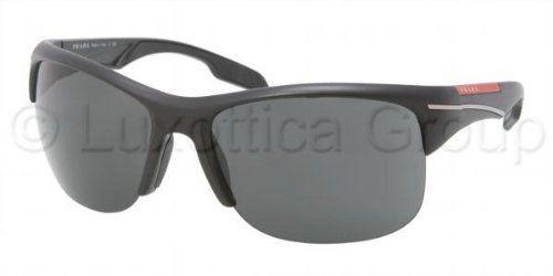 3b73dd5d54 Prada Sport 03NS 1B01A1 Black 03ns Rectangle « Impulse Clothes Prada  Sunglasses