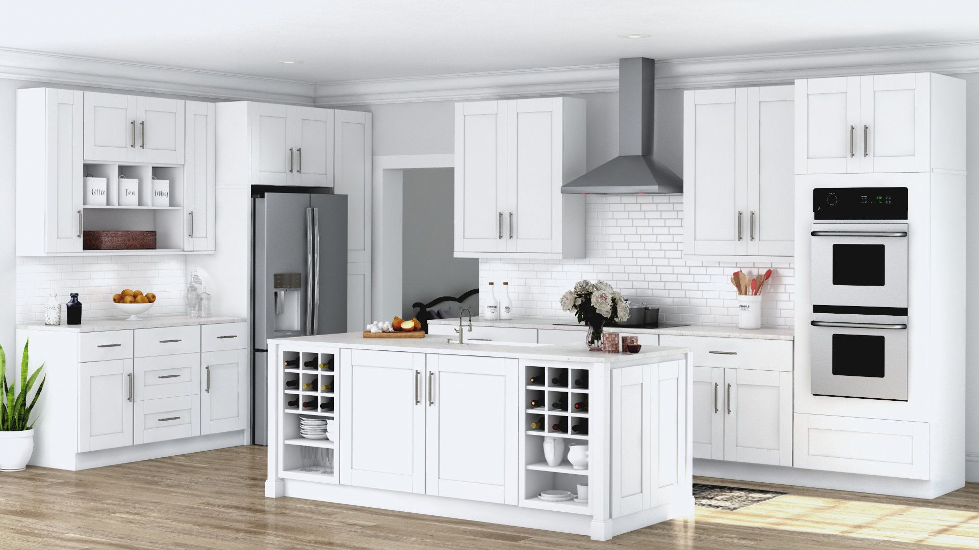 Best Magnificent White Kitchen Cabinets Ideas White Shaker 640 x 480