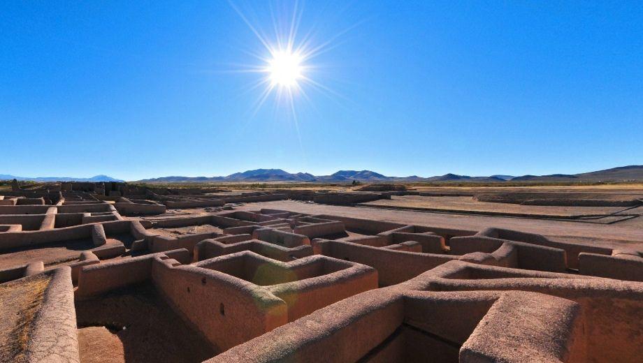 Paquime, localizada aproximadamente a 350 km al noroeste de la ciudad de Chihuahua, México.