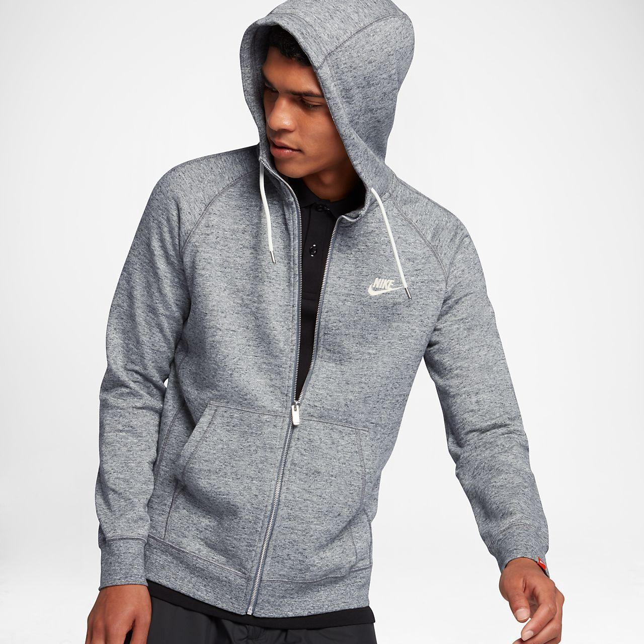 Grau Nike Legacy Full Zip Hoodies Herren Kaufen : Kleidung