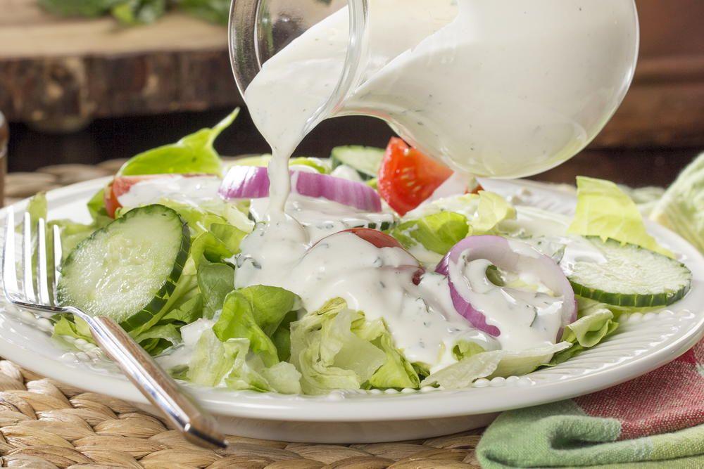Country Buttermilk Dressing Recipe Buttermilk Dressing Salad Dressing Homemade Salads