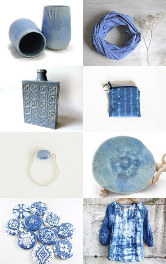 Gifts in Light Blue by Gilberto Vavalà on Etsy--Pinned with TreasuryPin.com