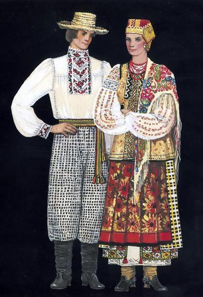 Украинский костюм слобожанщина  5c69abf5d9d5c