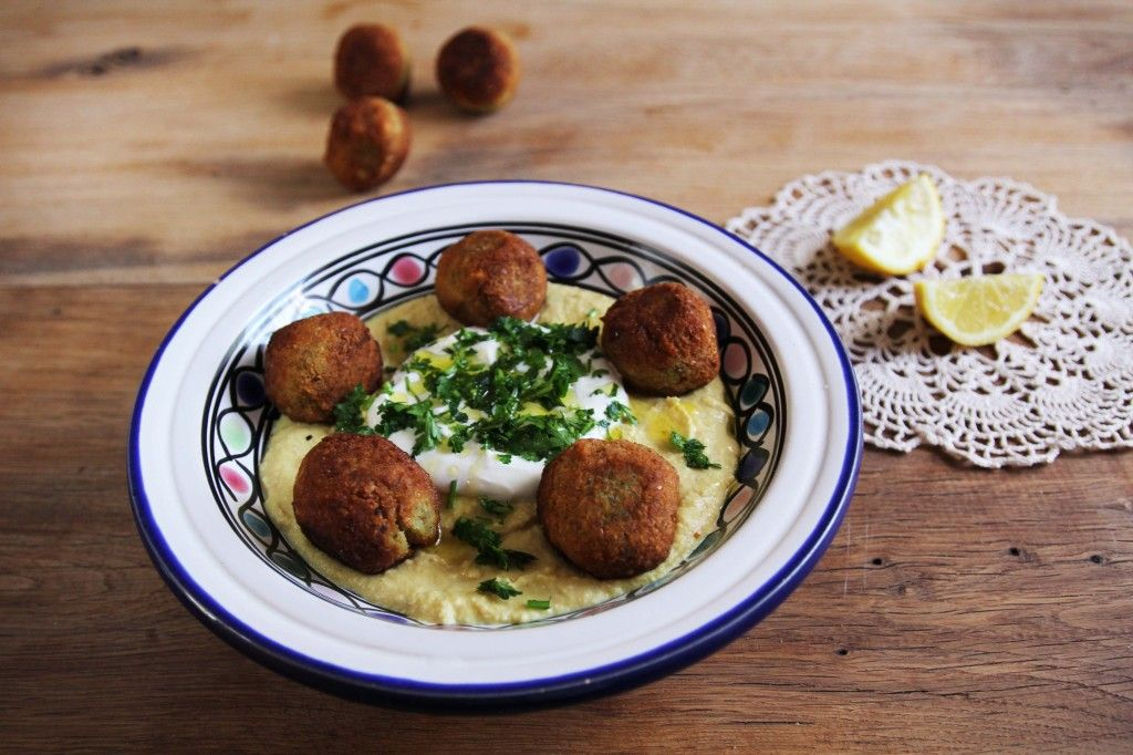 Chrumkavý+tradičný+falafel