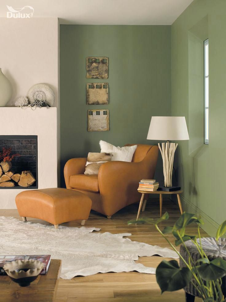 Grüne Farben für Wohnzimmer Innenarchitektur 2018 Pinterest - ideen fur wohnzimmer streichen
