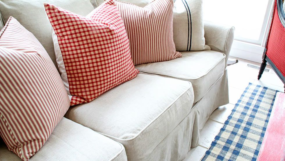Slipcovers For Discontinued Pottery Barn Sofas In 2020 Pottery Barn Slipcover Sofa Cushions On Sofa Slip Covers Couch