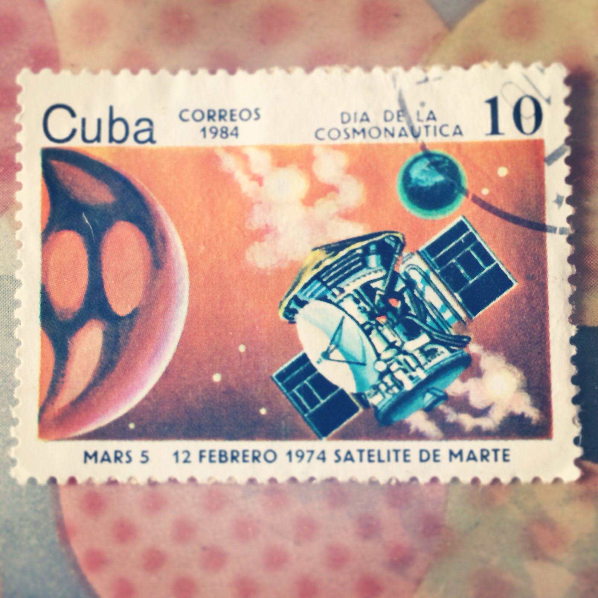 Cuba Correos stamp, year 1984