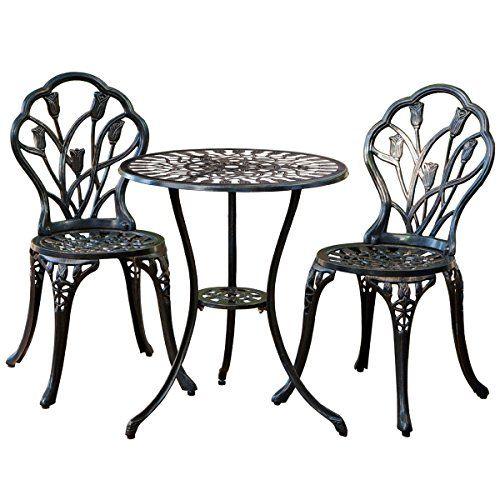 Patio Make Over Giantex Patio Furniture Cast Aluminum Rose Design